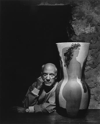 YOUSUF KARSH (1908-2002) Pablo Picasso.