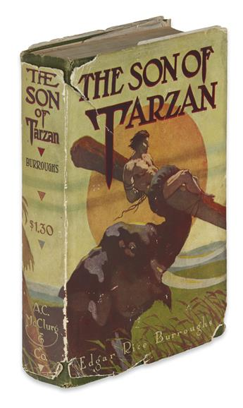 BURROUGHS, EDGAR RICE. The Son of Tarzan.