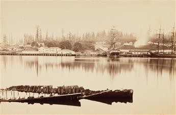 CARLETON E. WATKINS (1829-1916) Fort Madison, Puget Sound, Washington.