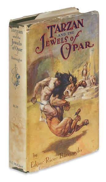 BURROUGHS, EDGAR RICE. Tarzan and the Jewels of Opar.