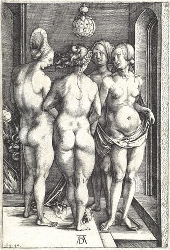 ALBRECHT DÜRER Four Naked Women.