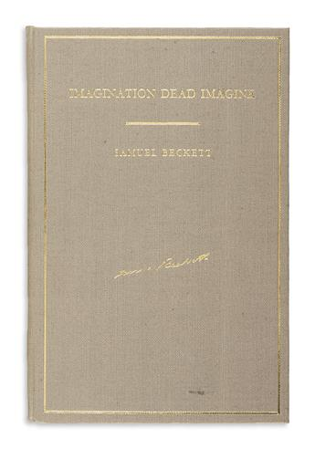 BECKETT, SAMUEL. Imagination Dead Imagine.