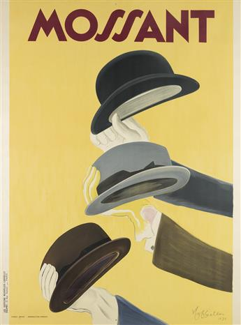 LEONETTO CAPPIELLO (1875-1942). MOSSANT. 1938. 62x46 inches, 157x118 cm. Edimo, Paris.