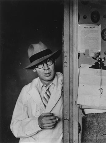 BRASSAÏ (1899-1984) Henry Miller à Paris.