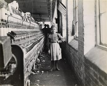 (LEWIS W. HINE) (1874-1940) Taxaway Cotton Mill, Anderson, South Carolina.