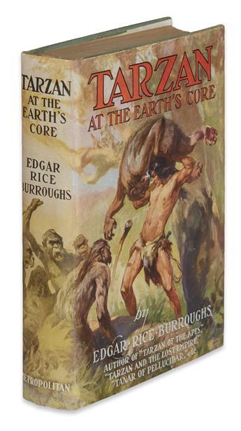 BURROUGHS, EDGAR RICE. Tarzan at the Earths Core.