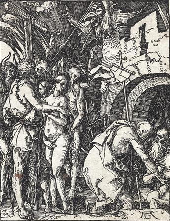 ALBRECHT DÜRER The Harrowing of Hell.