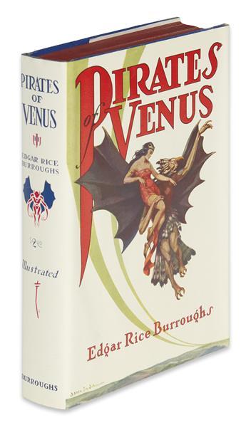 BURROUGHS, EDGAR RICE. Pirates of Venus.