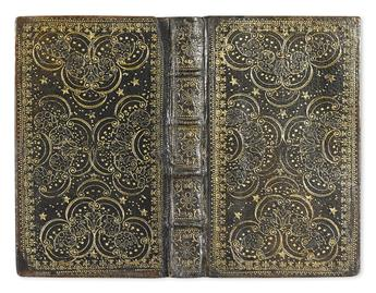 ANDREWES, LANCELOT. A Manual of the Privatte Devotions and Meditations. 1674. In contemporary morocco by one of the Queens binders.