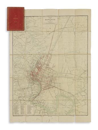 (BANGKOK.) Royal Survey Department of the [Thai] Army. Plan of Bangkok and District.