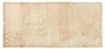 BARKER, ELIHU; and CAREY, MATHEW. A Map of Kentucky from Actual Survey By Elihu Barker.