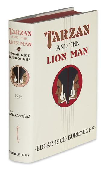 BURROUGHS, EDGAR RICE. Tarzan and the Lion Man.