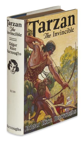 BURROUGHS, EDGAR RICE. Tarzan the Invincible.