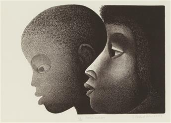 ELIZABETH CATLETT (1915 - 2012) Mother and Son.