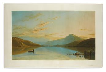 (LAKE GEORGE.) Hubbard, Richard William. Lake George.