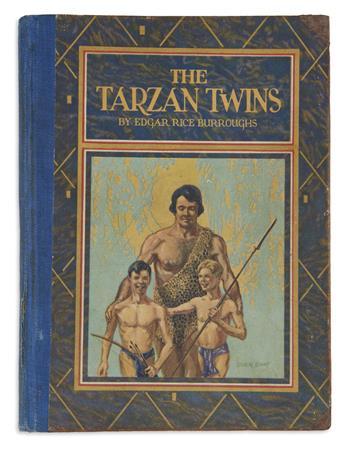 BURROUGHS, EDGAR RICE. The Tarzan Twins.