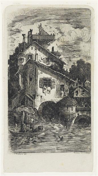 RODOLPHE BRESDIN Moulin à eau.