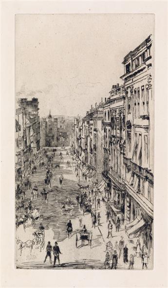 JAMES A. M. WHISTLER St Jamess Street.