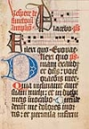 CATHOLIC LITURGY.  Circa 1500  Office of the Dead with Penitential Psalms and Litany.  Manuscript in Latin.