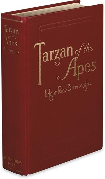 BURROUGHS, EDGAR RICE. Tarzan of the Apes.