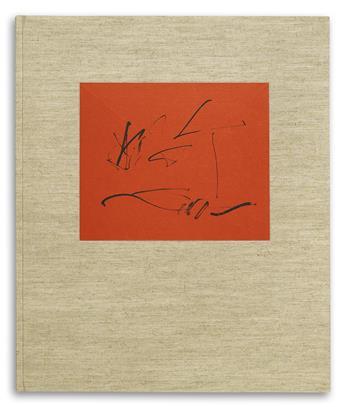 (MOTHERWELL, ROBERT / CONTEMPORARY ART / LIMITED EDITIONS CLUB.) Paz, Octavio. Three Poems.