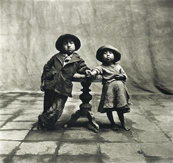 IRVING PENN (1917-2009) Cuzco Children, Peru, December.