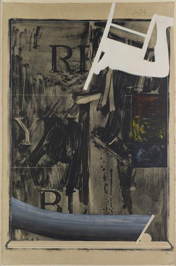JASPER JOHNS Watchman.
