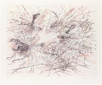 JULIE MEHRETU (1970 -  ) Untitled (Pulse).