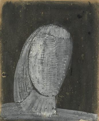 MILTON AVERY Gray Head.