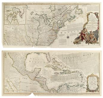 SAYER, ROBERT; and BENNETT, JOHN. A New and Correct Map of North America. 1777.