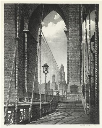 STOW WENGENROTH High Arches, Brooklyn Bridge.