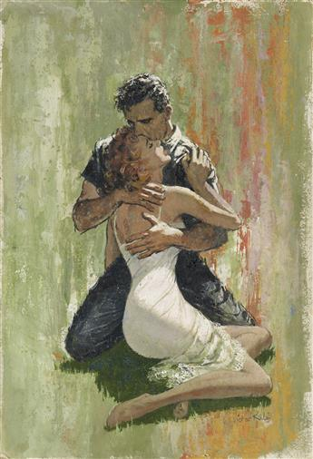 VICTOR KALIN. (PULP / ROMANCE) The Embrace.