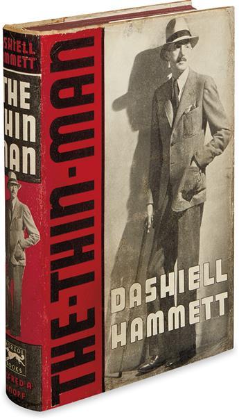 HAMMETT, DASHIELL. The Thin Man.