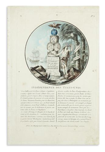 (UNITED STATES.) Sergent-Marceau, Antoine-Francois. Independance des Etats-Unis.