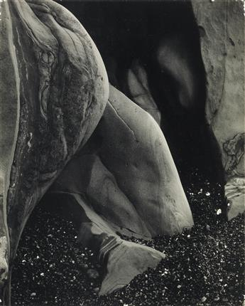 EDWARD WESTON (1886-1958) Rock Erosion, Point Lobos.