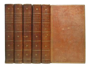SMITH, ADAM. The Theory of Moral Sentiments. 2 vols. 1792 + An Inquiry into . . . the Wealth of Nations. 3 vols. 1793
