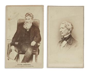 (PHOTOGRAPHY--CIVIL WAR.) Group of 23 cartes-de-vistes of Union leaders and more.