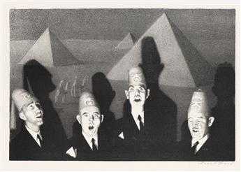 GRANT WOOD Shrine Quartet.