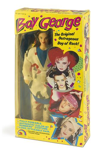 (DOLL/ACTION FIGURE)  Boy George, the Original Outrageous Boy of Rock!