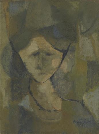 MICHELLE STUART Portrait of a Woman.