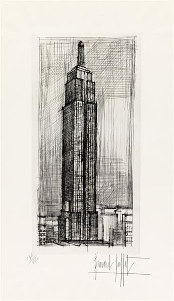 BERNARD BUFFET The Empire State Building.
