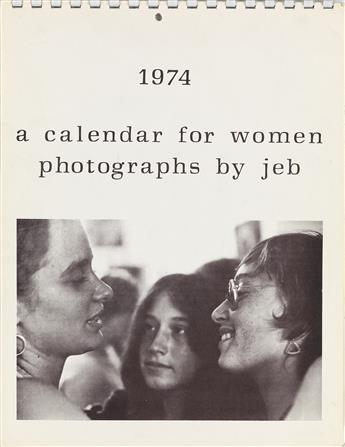 JOAN E. BIREN (1944 - )  Group of 4 photographic works celebrating lesbians.