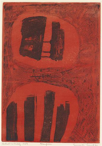 EMMA AMOS (1938 -   ) Pompeii.