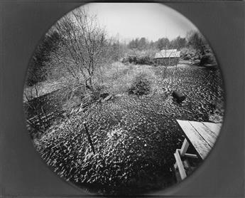EMMET GOWIN (1941- ) Spring Snow, Danville, Virginia.