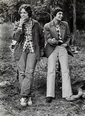 JOAN E. BIREN (1944 - )  Ginger and Catherine.