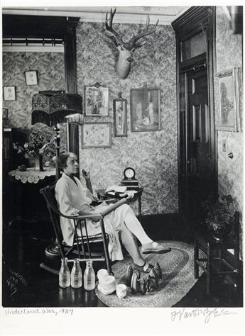JAMES VANDERZEE (1886 - 1983) Undeclared War.