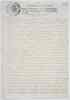 (ASIENTO DOCUMENT.) Signed Yo La Reyna, by Maria Ana de Austria, dowager queen of Spain,