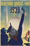 VARIOUS ARTISTS. NEW YORK WORLDS FAIR. Group of 3 posters. 1939. 30x20 inches, 76x50 cm. Grinnell Litho. Co. Inc., N.Y.C.
