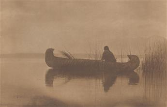 EDWARD S. CURTIS (1868-1952) Kutenai Duck Hunter, plate 249 from The North American Indian.