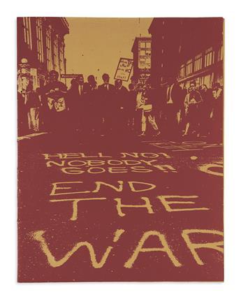(VIETNAM WAR.) Portfolio titled October 16, Stop the Draft Week, Oakland Induction Center.